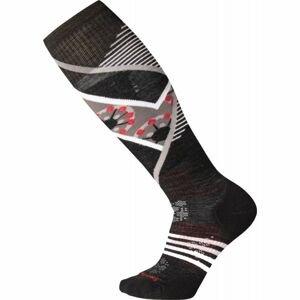Smartwool PHD SKI LIGHT ELITE PATTERN W čierna L - Dámske lyžiarske ponožky