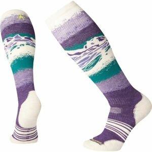 Smartwool PHD SNOW MEDIUM fialová L - Dámske lyžiarske ponožky