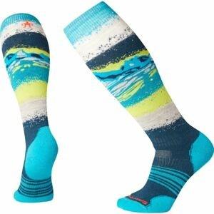 Smartwool PHD SNOW MEDIUM modrá L - Dámske lyžiarske ponožky