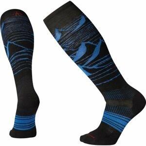 Smartwool PHD SNOW LIGHT ELITE čierna XL - Pánske lyžiarske ponožky