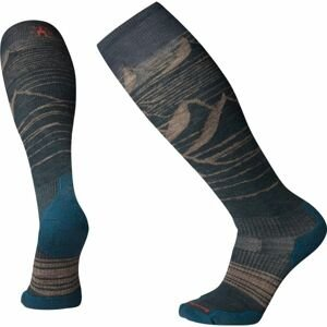 Smartwool PHD SNOW LIGHT ELITE šedá L - Pánske lyžiarske ponožky