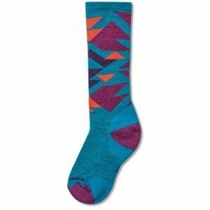 Smartwool WINTERSPORT NEO NATIVE modrá L - Detské zimné ponožky