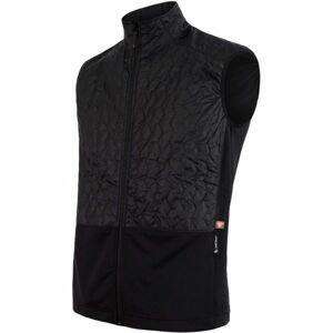 Sensor INFINITY ZERO čierna XL - Pánska vesta