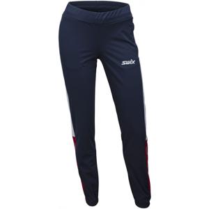 Swix DYNAMIC tmavo modrá S - Dámske lyžiarske nohavice