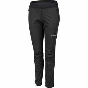 Swix CROSS modrá M - Dámske softshellové nohavice