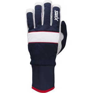 Swix POWDER tmavo modrá 10 - Bežkárske rukavice