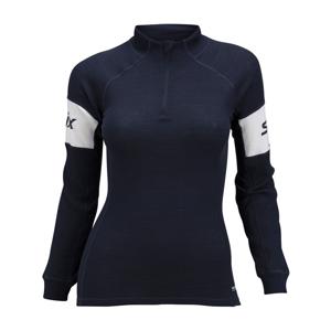 Swix RACEX WARM tmavo modrá M - Funkčné  športové tričko