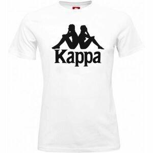 Kappa AUTHETIC ESTESSI SLIM biela XXL - Pánske tričko