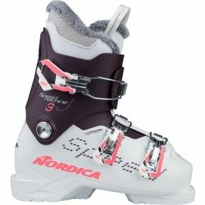 Nordica SPEEDMACHINE J 3  24.5 - Detská lyžiarska obuv