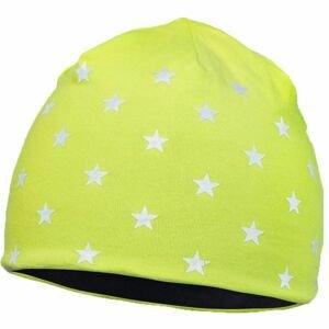 Runto STARS žltá UNI - Detská zimná čiapka