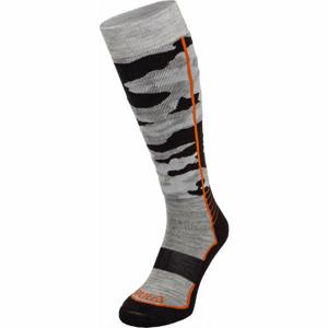 Bula CAMO SKI SOCKS šedá M - Lyžiarske ponožky