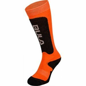 Bula BRANDS SKI SOCKS oranžová XXS - Detské lyžiarske ponožky