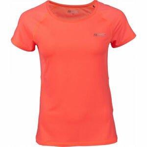 Fitforce JULIET oranžová XL - Dámske fitness tričko