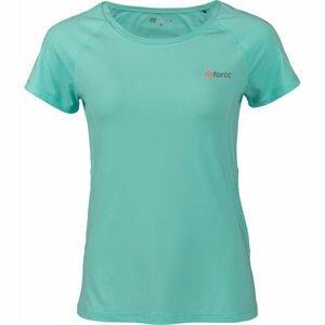 Fitforce JULIET modrá S - Dámske fitness tričko