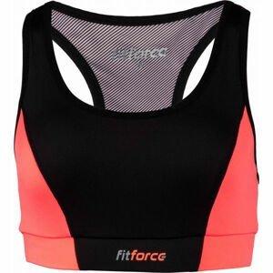 Fitforce PIRA oranžová XS - Dámska fitness podprsenka