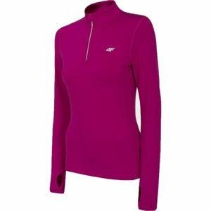 4F SKI UNDERWEAR ružová L - Dámske termo tričko