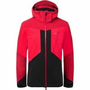 Kjus MEN BOVAL JACKET červená 48 - Pánska zimná bunda