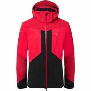 Kjus MEN BOVAL JACKET červená 54 - Pánska zimná bunda