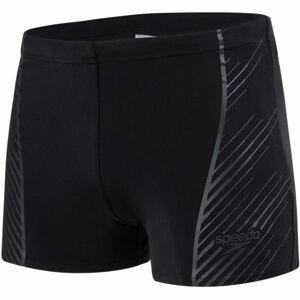 Speedo SPORT PANEL AQUASHORT čierna 7 - Pánske plavky