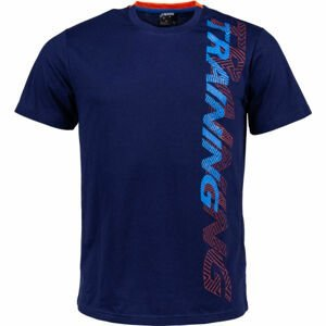 Kensis KENNY tmavo modrá XXL - Pánske tričko