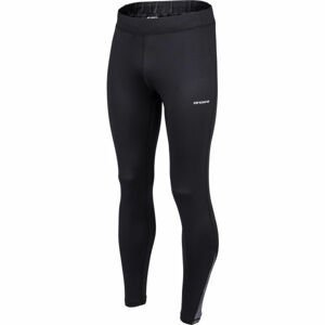 Arcore DAN čierna M - Pánske bežecké nohavice