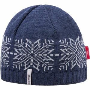 Kama ČIAPKA MERINO+WINDSTOPPER tmavo modrá L - Pletená čiapka