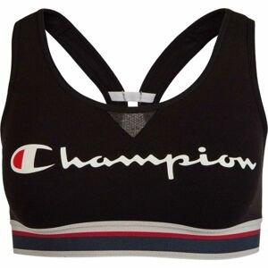 Champion CROP TOP AUTHENTIC čierna S - Dámska športová podprsenka