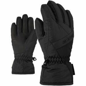 Ziener LINARD GTX JUNIOR čierna 7,5 - Detské rukavice