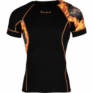 Suspect Animal GHOSTRIDER čierna L - Pánske funkčné tričko