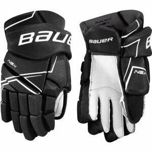 Bauer NSX GLOVE YTH  8 - Detské hokejové rukavice