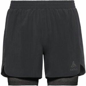 Odlo 2-IN-1 SHORTS MILLENNIUM LENCOOL PRO čierna XL - Pánske šortky