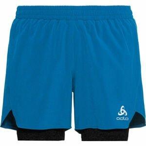 Odlo 2-IN-1 SHORTS MILLENNIUM LENCOOL PRO modrá S - Pánske šortky