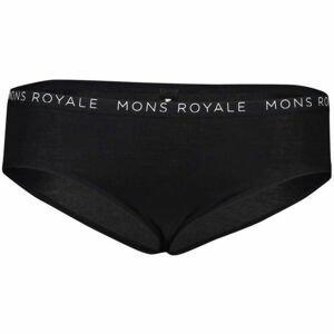 MONS ROYALE FOLO BRIEF čierna S - Športové nohavičky z Merino vlny
