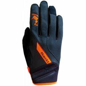 Roeckl RENON čierna 11 - Cyklistické rukavice