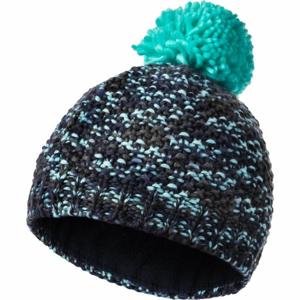 FLLÖS SONJA čierna UNI - Detská zimná čiapka
