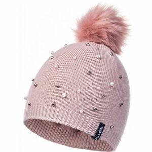 FLLÖS AGNETHA svetlo ružová UNI - Dámska zimná čiapka