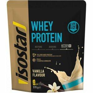 Isostar WHEY PROTEIN VANILKA 570G  NS - Prášok na prípravu proteínového nápoja s obsahom BCAA