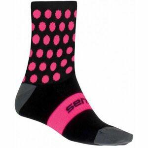 Sensor DOTS ružová 3-5 - Ponožky
