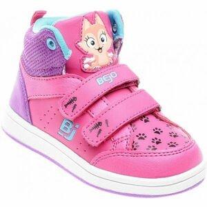 Bejo CATIE KDG ružová 22 - Detská vychádzková obuv