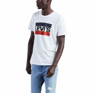 Levi's SPORTSWEAR LOGO GRAPHIC biela M - Pánske tričko