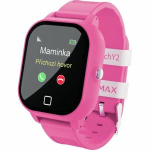 LAMAX WATCH Y2 ružová NS - Detské hodinky