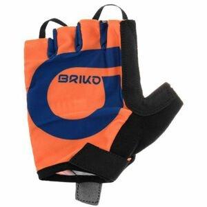 Briko GRANFONDO 5R0 oranžová 2xl - Cyklistické rukavice