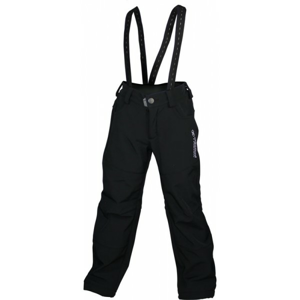 Rucanor TRIMM JUNIOR čierna 140 - Detské softshellové nohavice