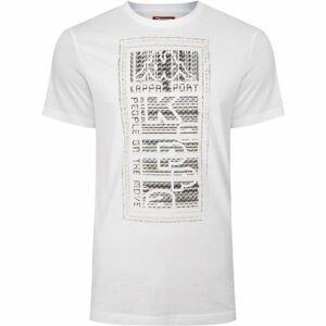 Kappa LOGO BISTAMP biela M - Pánske tričko