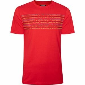 Kappa LOGO BOPER červená L - Pánske tričko
