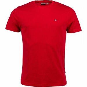 Napapijri SELIOS 2 červená S - Pánske tričko