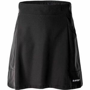 Hi-Tec LADY DANDO čierna S - Dámska outdoorová sukňa