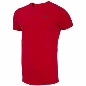 4F MENS T-SHIRTS červená L - Pánske tričko