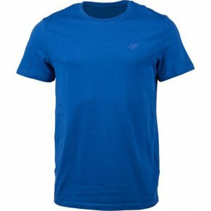 4F MENS T-SHIRTS modrá L - Pánske tričko