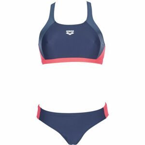 Arena REN TWO PIECES tmavo modrá 40 - Dámske dvojdielne plavky